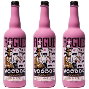 Three bottles of Rogue Voodoo? That's three too many, as I discovered.
