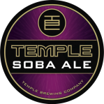 I could tell you this is the Temple Brewing Soba Ale label...but you've probably worked that out already.