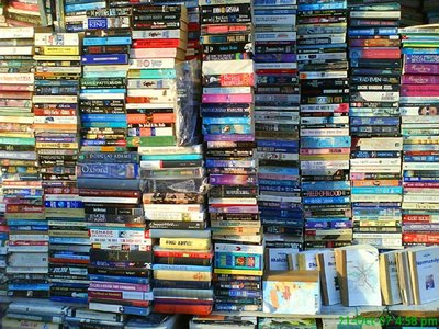 "This is what Google gave me when I searched for ""humongous pile of books"". Which is what I have at home."