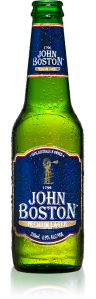 The John Boston lager.