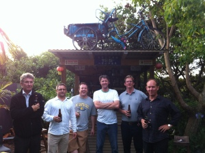 The team of contributors for Back to the Ferry.