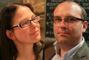 Jessica and Ray, the people behind the Boak & Bailey Beer Blog.